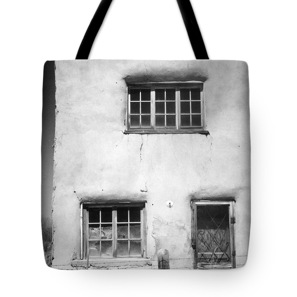 Building Tote Bag featuring the photograph Deserted by Crystal Nederman