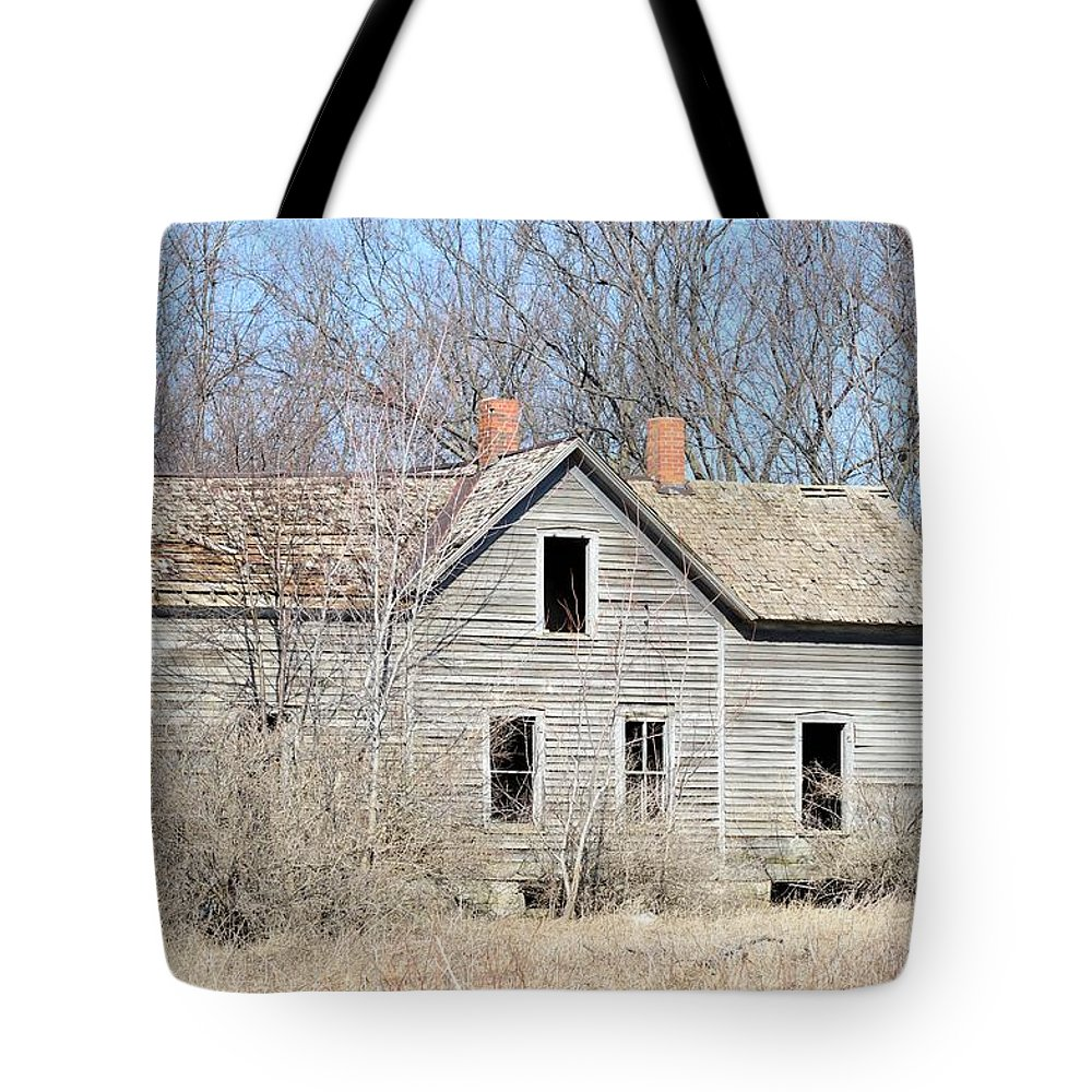 House Tote Bag featuring the photograph Desolation by Bonfire Photography