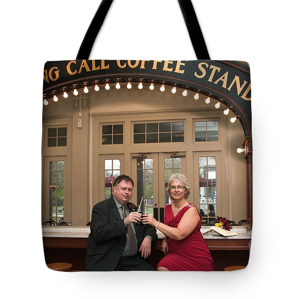 Destination Wedding Tote Bag featuring the photograph Destination Wedding-m And D-4 by Kathleen K Parker