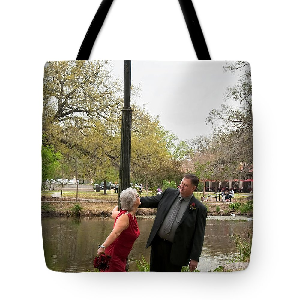 Destination Tote Bag featuring the photograph Destination Wedding-m And D-6 by Kathleen K Parker