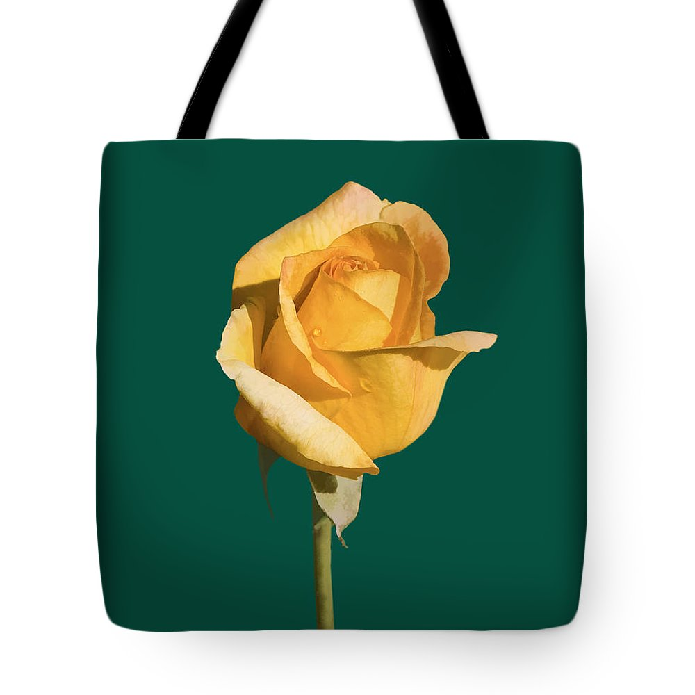 Roses Tote Bag featuring the photograph Dew Drops by Delores Knowles