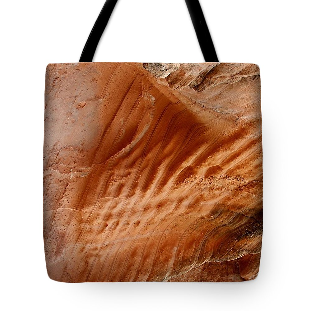 Rock Tote Bag featuring the photograph Diamond Fork Red Rock 09 by Linda Koelbel