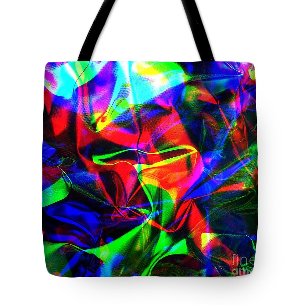 Rgb Tote Bag featuring the photograph Digital Art-a14 by Gary Gingrich Galleries