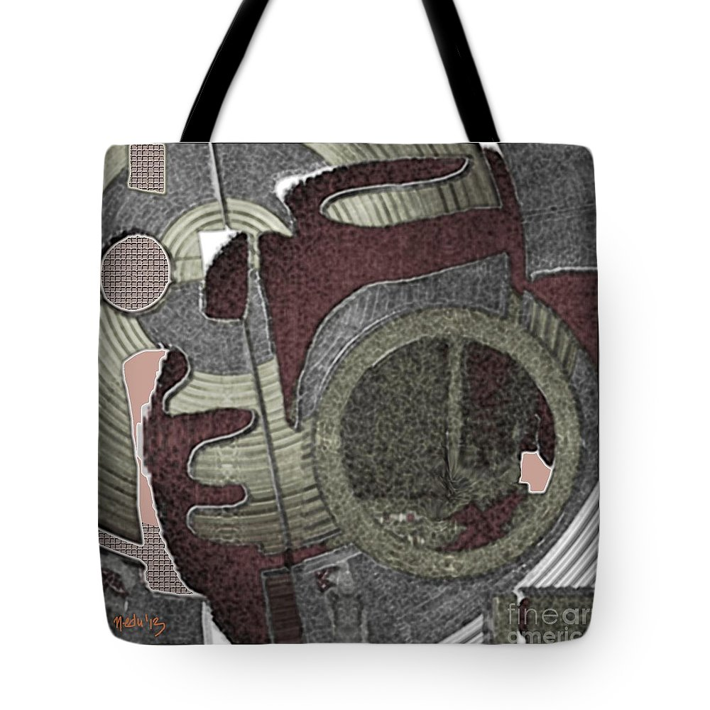 Art Prints Tote Bag featuring the painting Digital Design 590 by Nedunseralathan R