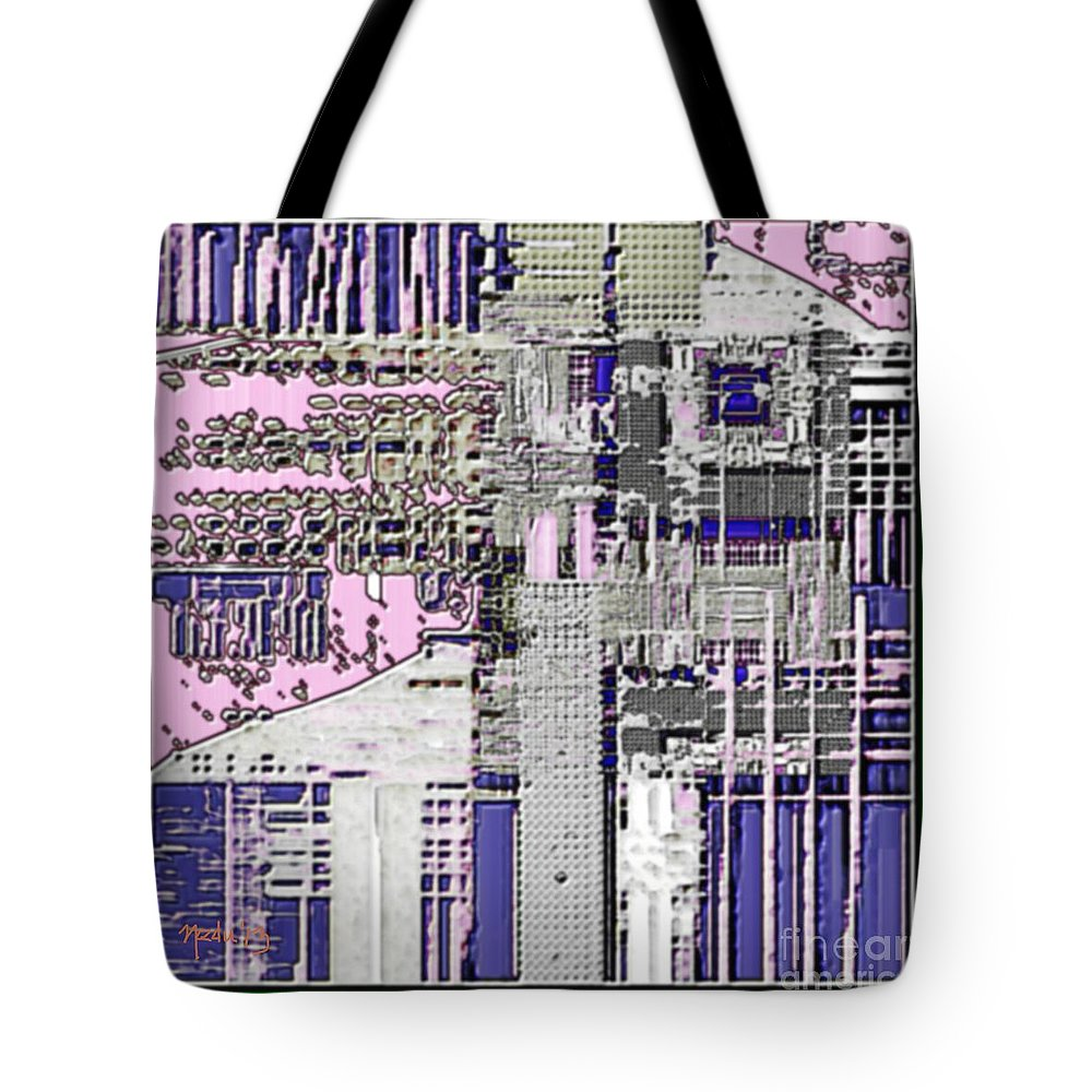 Art Prints Tote Bag featuring the painting Digital Design 591 by Nedunseralathan R