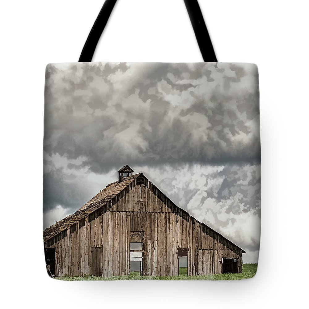 Barn Tote Bag featuring the photograph Disappearing America by David Kay