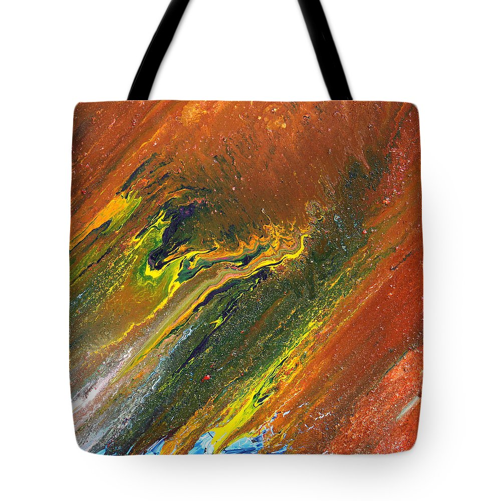Fusionart Tote Bag featuring the painting Distance by Ralph White