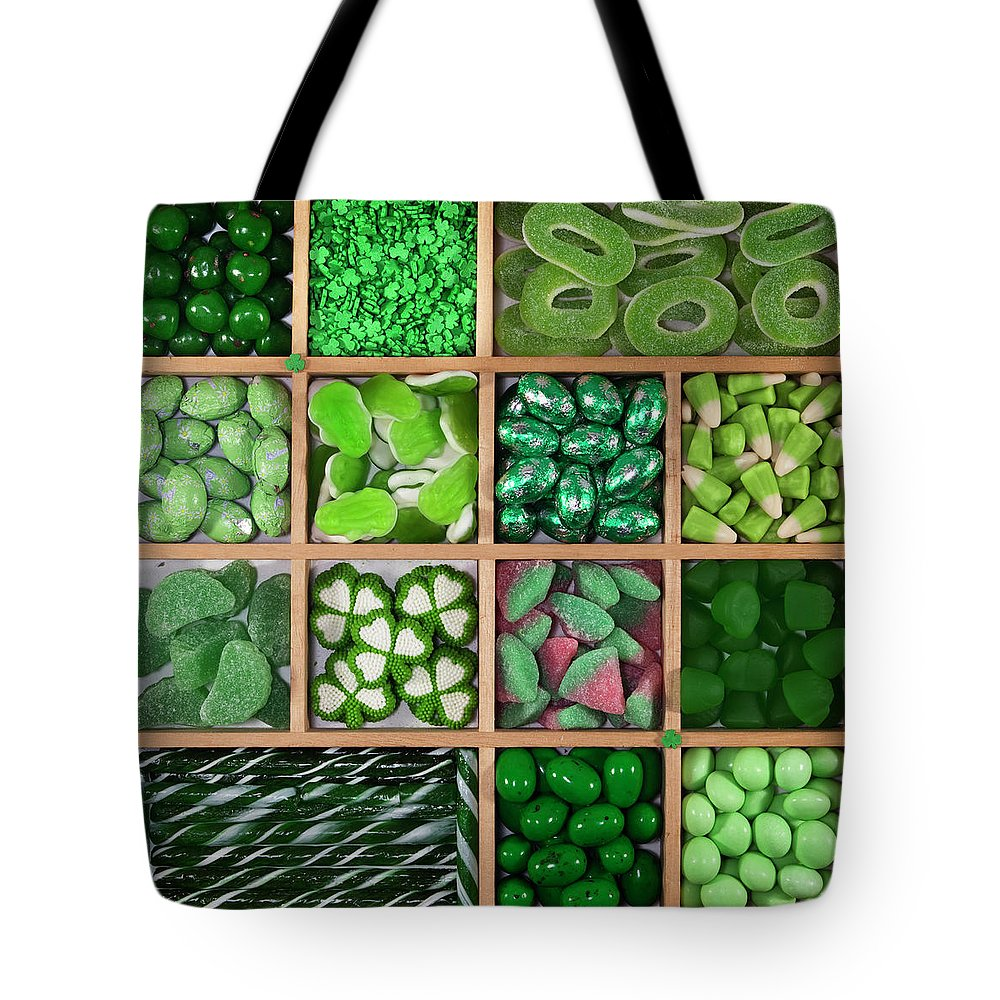 Brampton Tote Bag featuring the photograph Divded Wooden Tray by Lisa Stokes