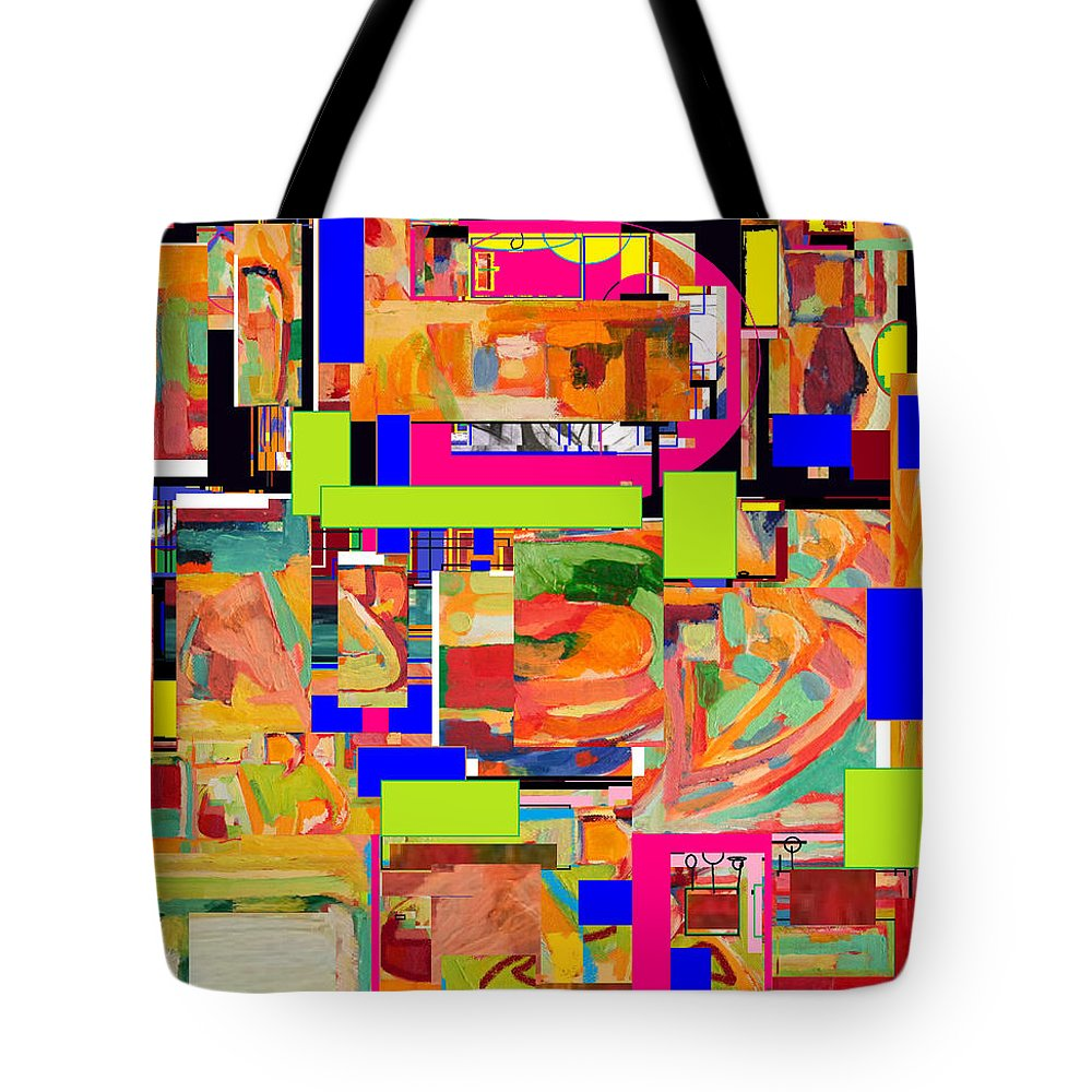 Torah Tote Bag featuring the digital art Divinely Blessed Marital Harmony 4 by David Baruch Wolk