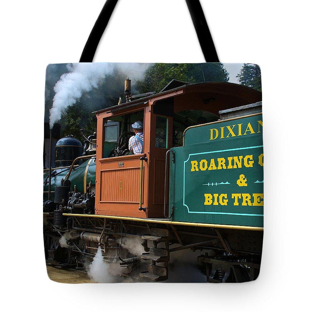 Dixiana Tote Bag featuring the photograph Dixiana Engine 4 by Richard J Cassato