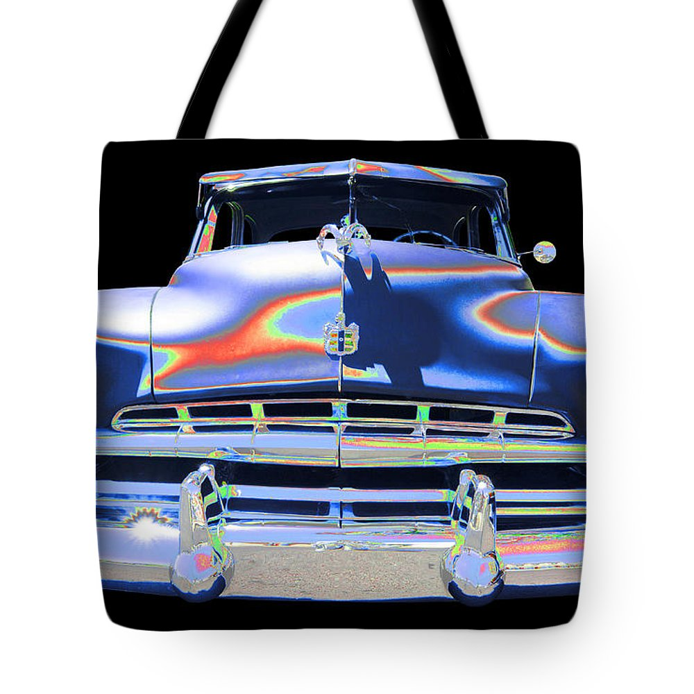1952 Dodge Tote Bag featuring the photograph Dodge by Allan Price