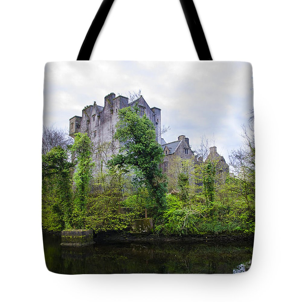 Donegal Tote Bag featuring the photograph Donegal Castle In Donegaltown Ireland by Bill Cannon