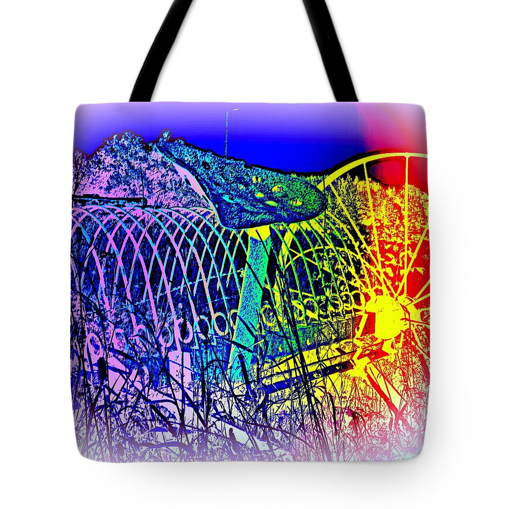 Agriculture Tote Bag featuring the photograph Dont Dream Of The Old Times, They Will Never Return by Hilde Widerberg