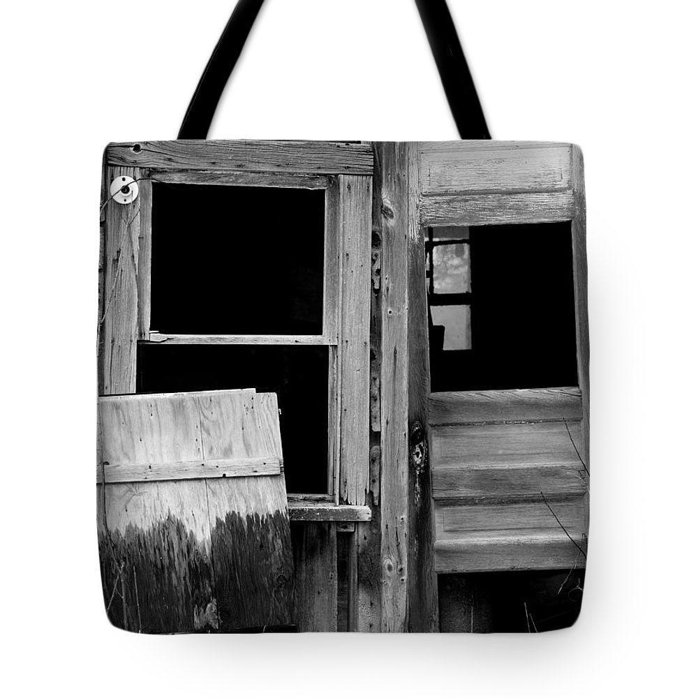 Old Tote Bag featuring the photograph Don't Go In by Tara Lynn