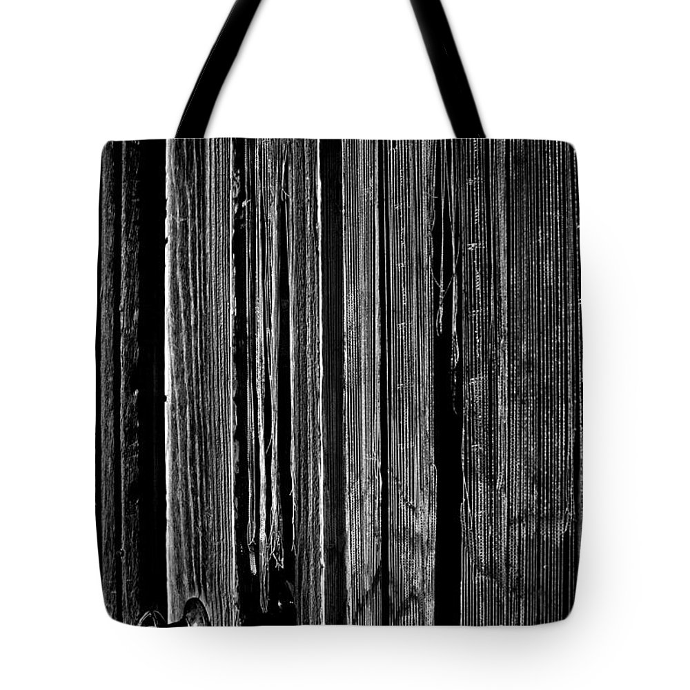 Old West Tote Bag featuring the photograph Door And Lace by Paul W Faust - Impressions of Light