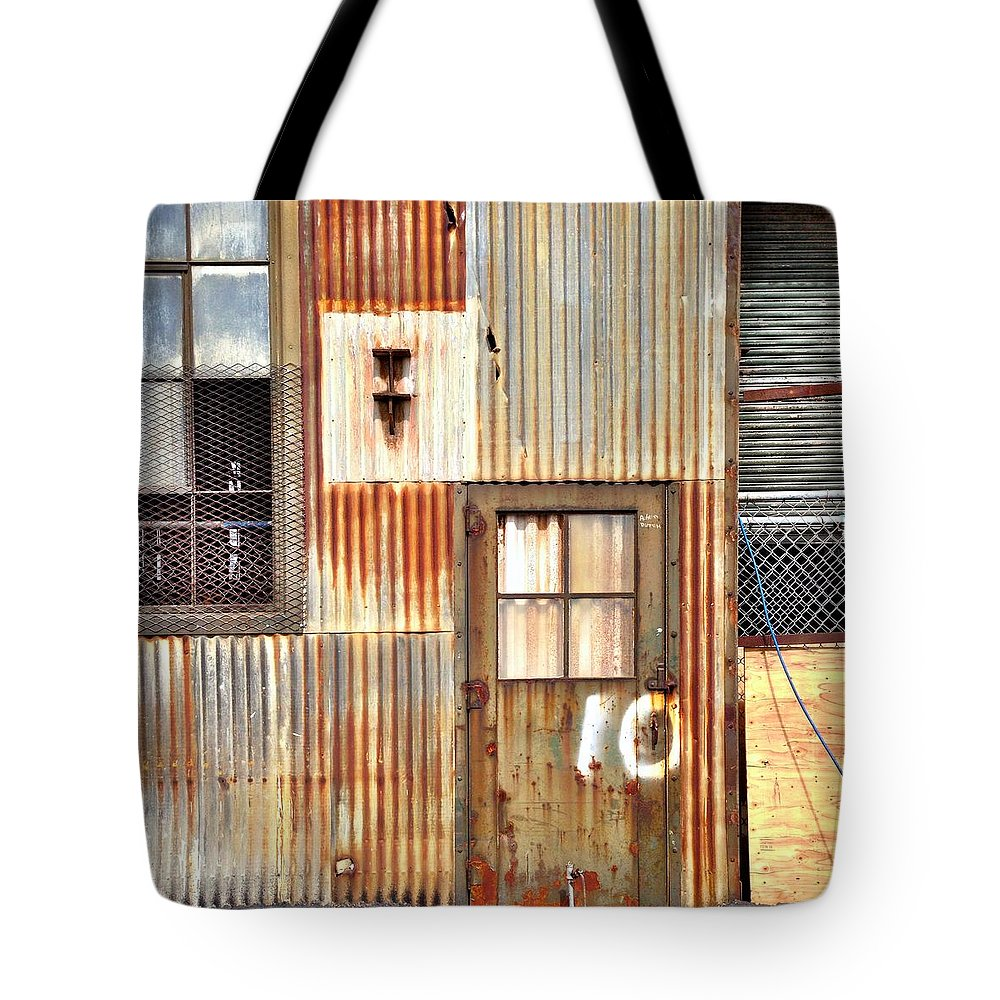 Rust Tote Bag featuring the photograph Door Number 10 by Julie Gebhardt