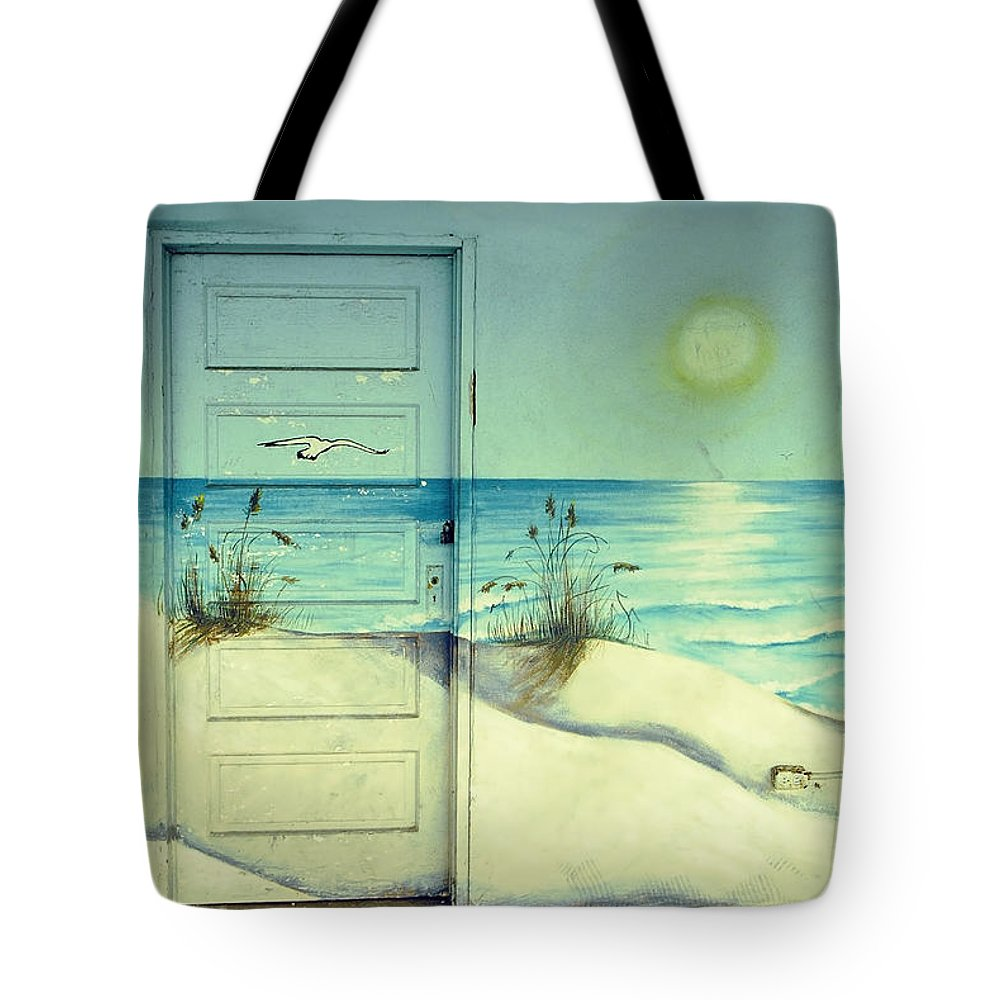 Architecture Tote Bag featuring the photograph Door Of Perception by Skip Hunt