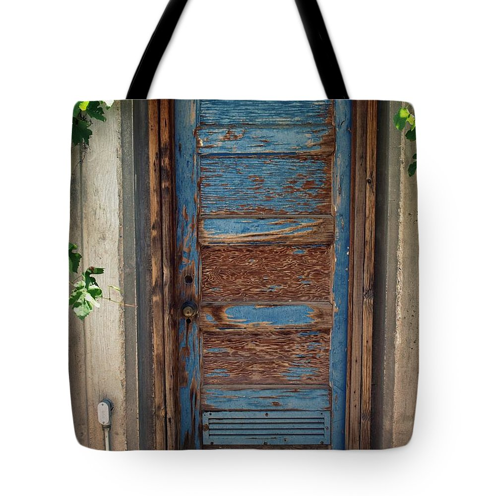 Door Tote Bag featuring the photograph Lusk Farm by Gia Marie Houck