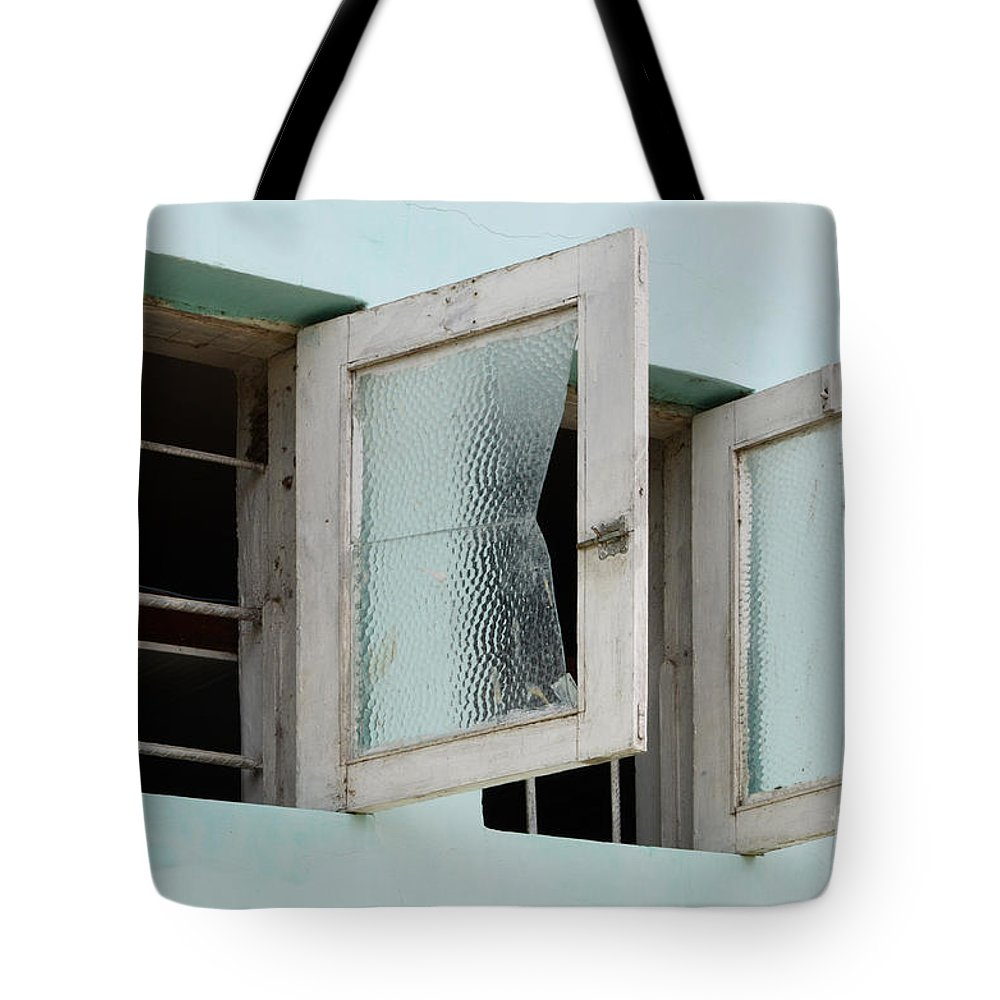 Door Tote Bag featuring the photograph Doors And Windows Lencois Brazil 5 by Bob Christopher