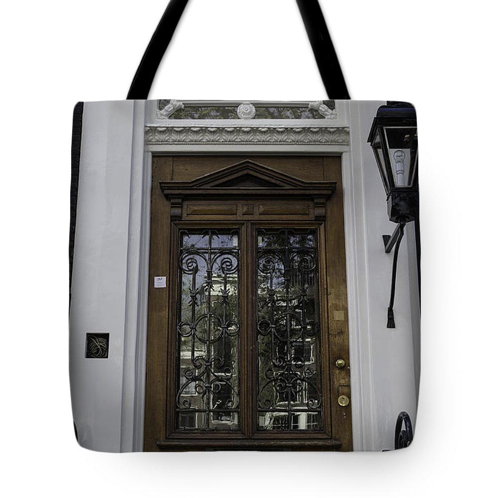 2014 Tote Bag featuring the photograph Doors Of Amsterdam 01 by Teresa Mucha