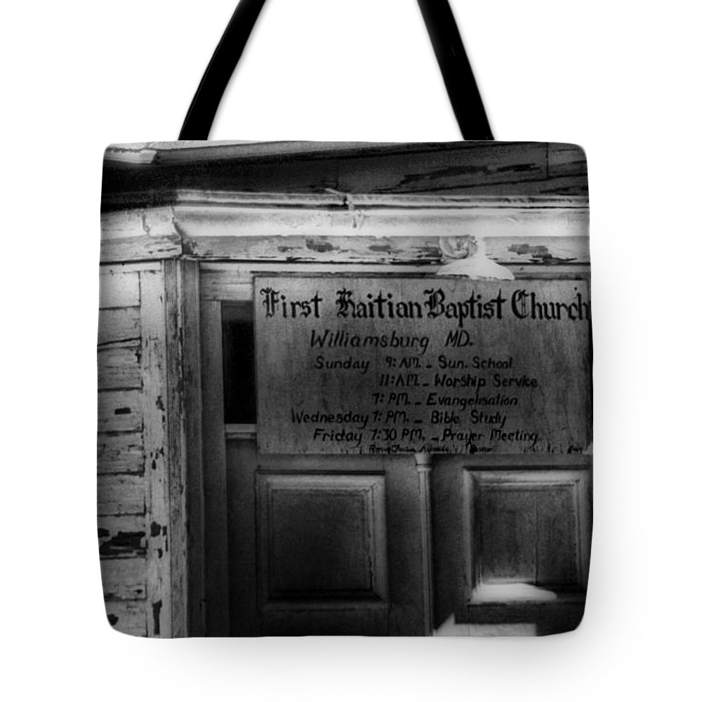 Scenic Tours Tote Bag featuring the photograph Doors Of Worship by Skip Willits
