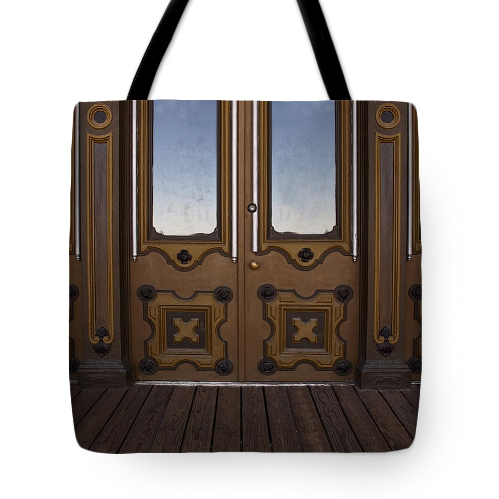 Building Tote Bag featuring the photograph Doors To The Old West by Margie Hurwich
