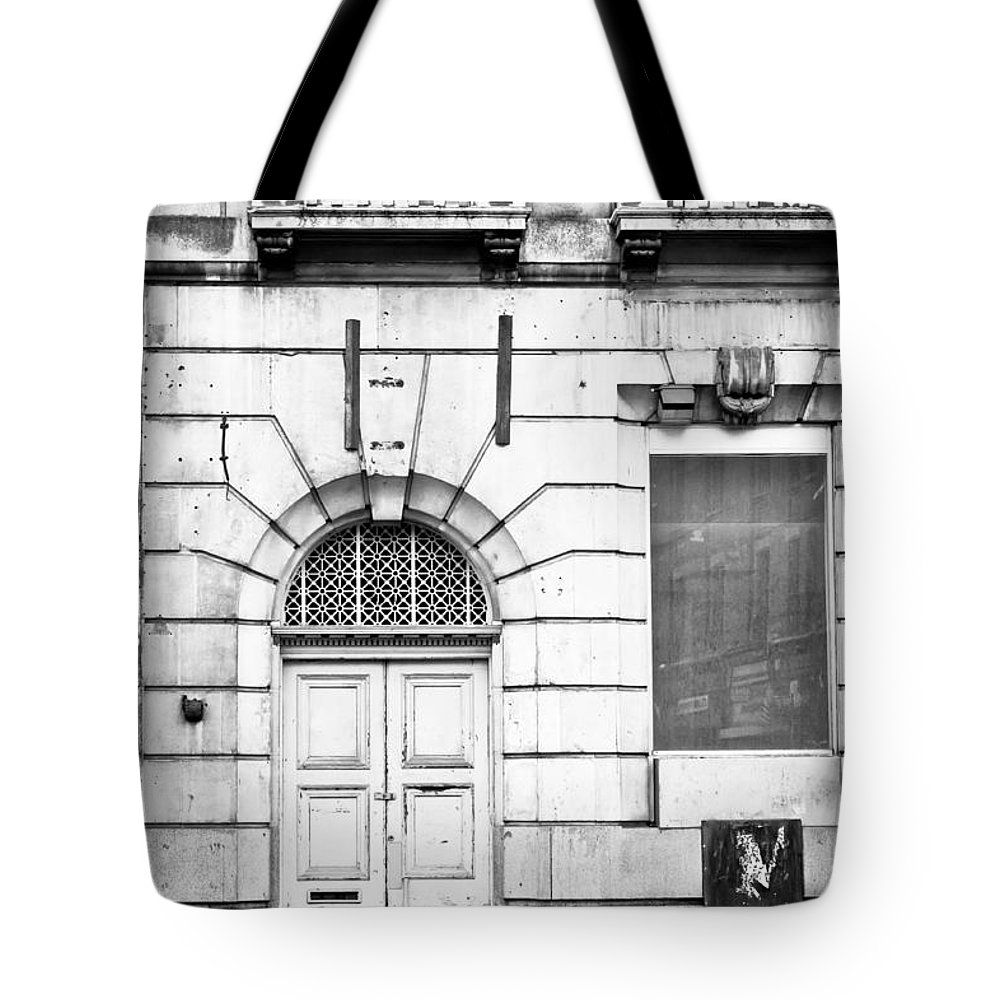 Abandoned Tote Bag featuring the photograph Doorway by Tom Gowanlock