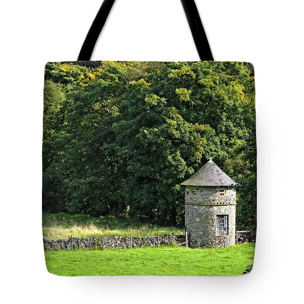 Bright Tote Bag featuring the photograph Dovecote At Swainsley Near Warslow by Rod Johnson