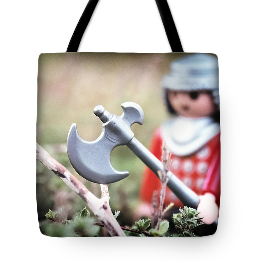 Toy Tote Bag featuring the photograph Down In The Woods by Caitlyn Grasso