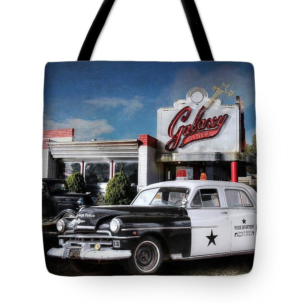 Arizona Tote Bag featuring the photograph Down Memory Lane by Lori Deiter