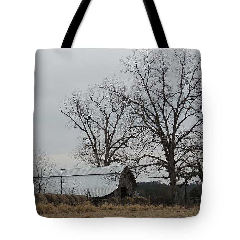 Farm Tote Bag featuring the photograph Down On The Farm 2 by Marian Bell