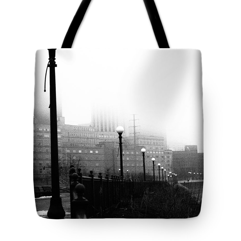Downtown Tote Bag featuring the photograph Downtown St.paul Minnesota by Amanda Hilden