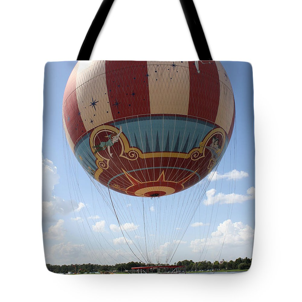 Disney World Tote Bag featuring the photograph Downtown Transport by David Nicholls