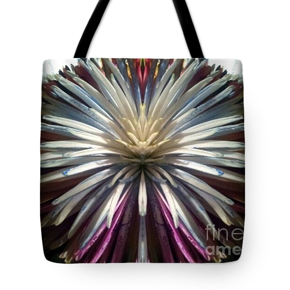 Flower Tote Bag featuring the photograph Dragon Flower by Jon Glynn