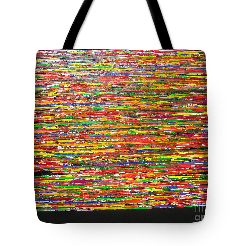 Drama Tote Bag featuring the painting Drama by Jacqueline Athmann