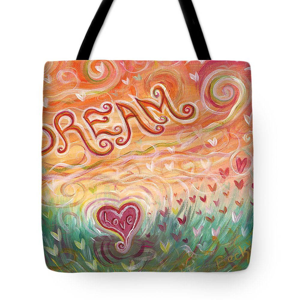 Dream Tote Bag featuring the painting Dream by Beckie J Neff