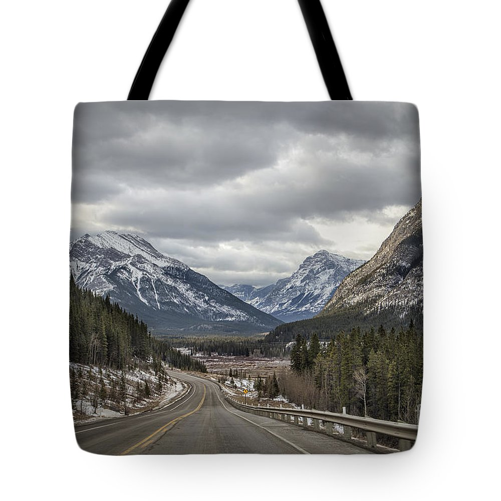 Banff Tote Bag featuring the photograph Dream Journey by Evelina Kremsdorf