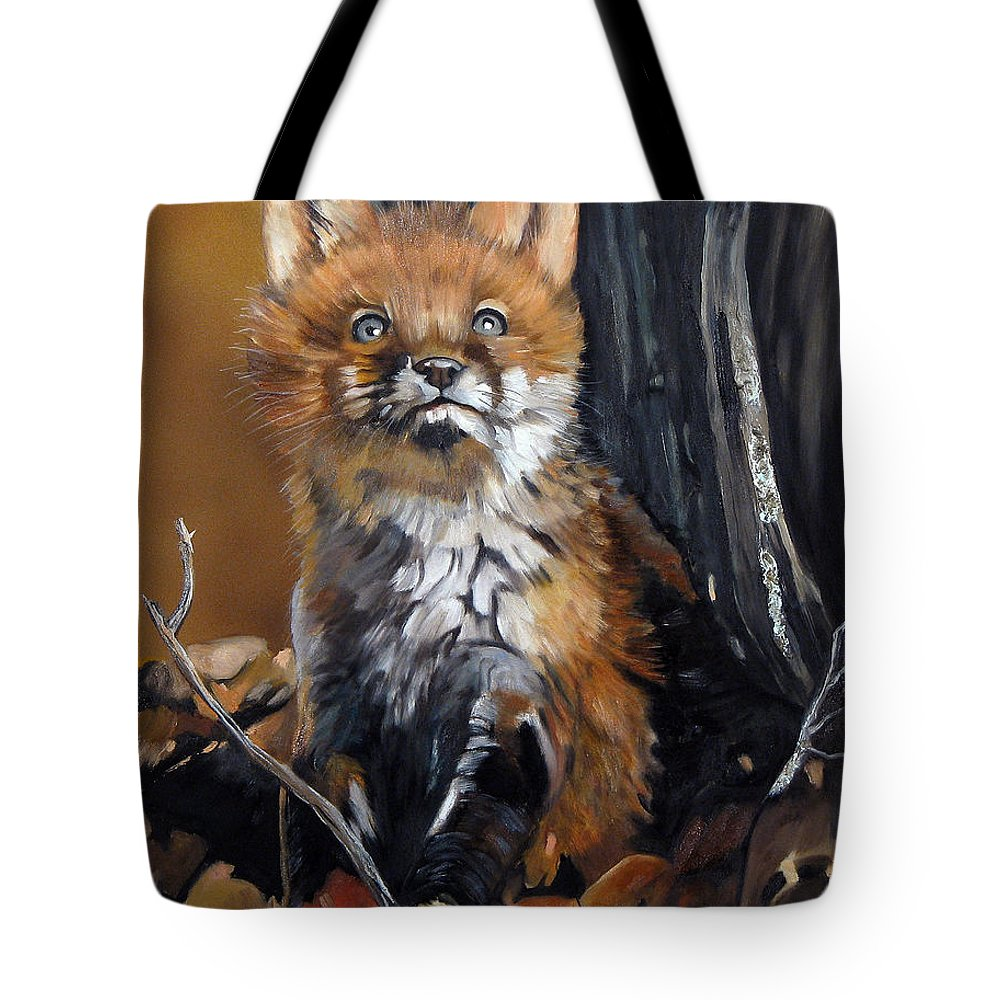 Southwest Art Tote Bag featuring the painting Dreamer by J W Baker