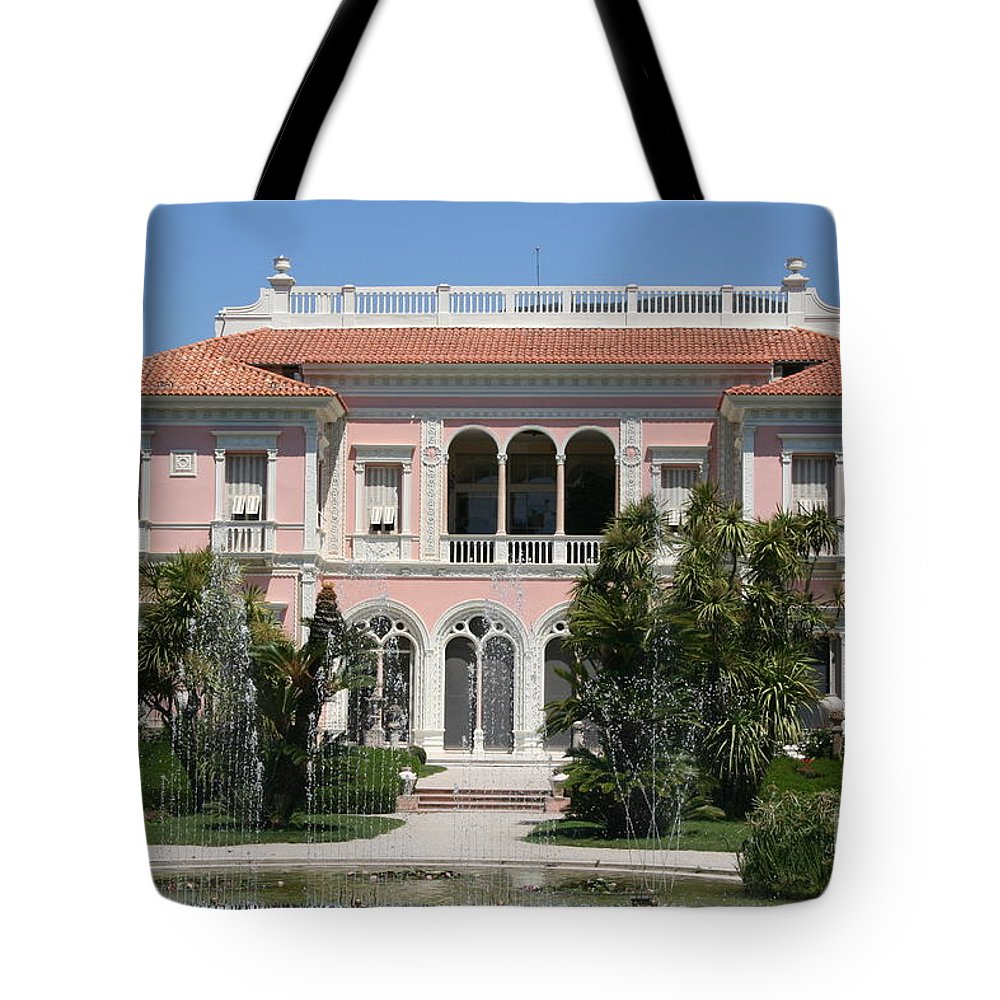 House Tote Bag featuring the photograph Dreamhome by Christiane Schulze Art And Photography