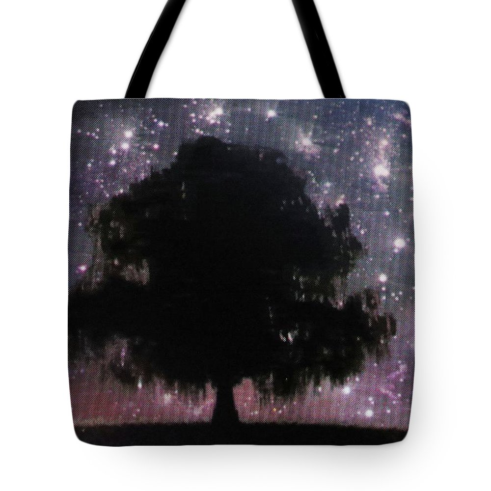 Stars Tote Bag featuring the photograph Dreaming Tree by Aaron Martens