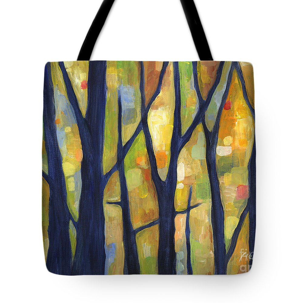Woodland Paintings Tote Bags