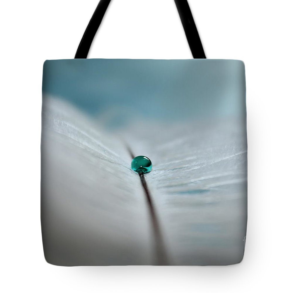 Feather Tote Bag featuring the photograph Dreams Gone By by Krissy Katsimbras