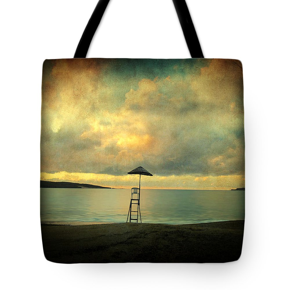 Seascape Tote Bag featuring the photograph Dreamscape by Zapista