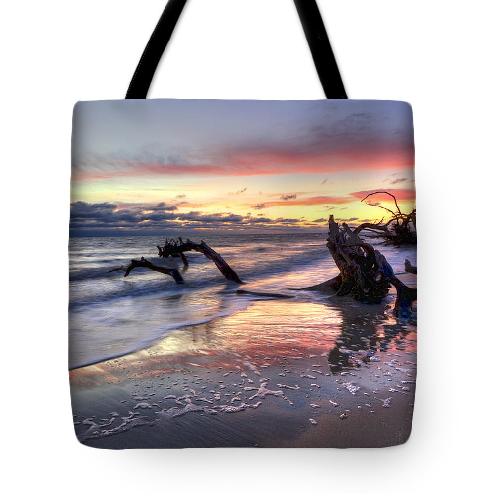 Clouds Tote Bag featuring the photograph Drifter's Dreams by Debra and Dave Vanderlaan