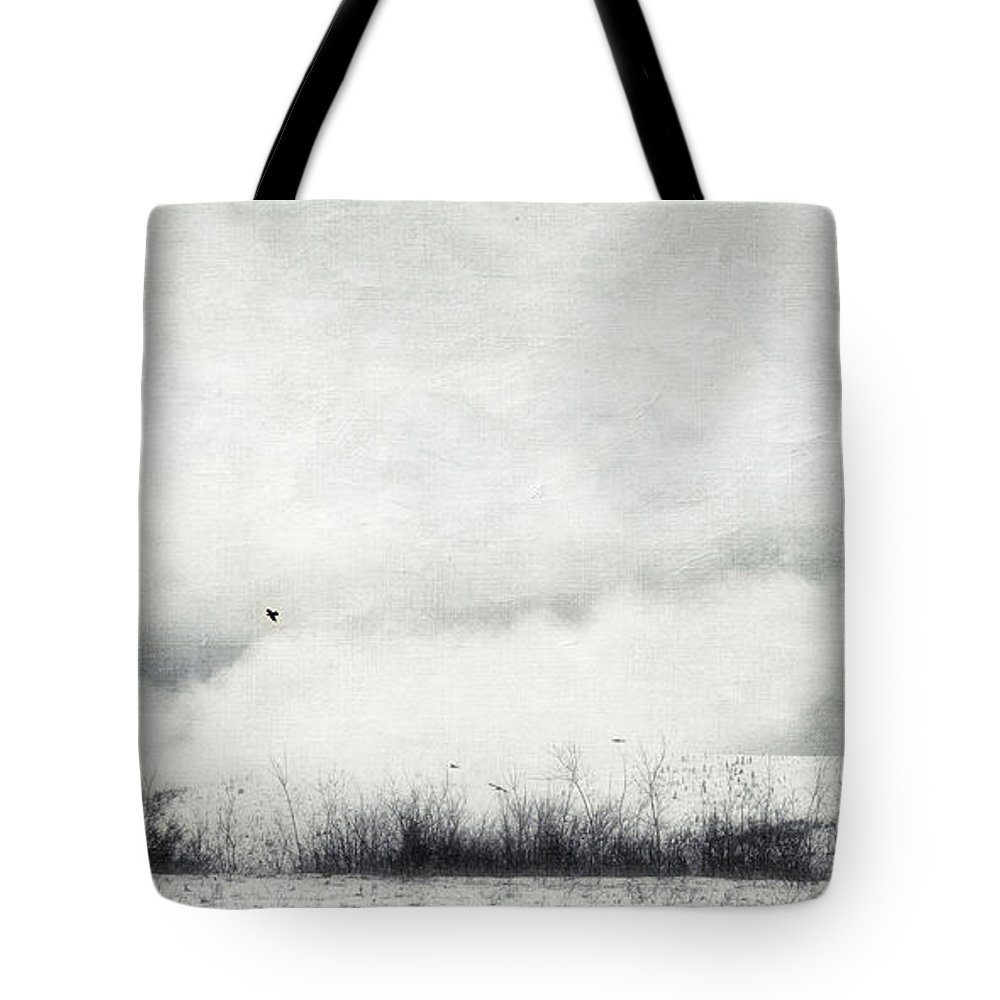 Canada Tote Bag featuring the photograph Drifting by Priska Wettstein
