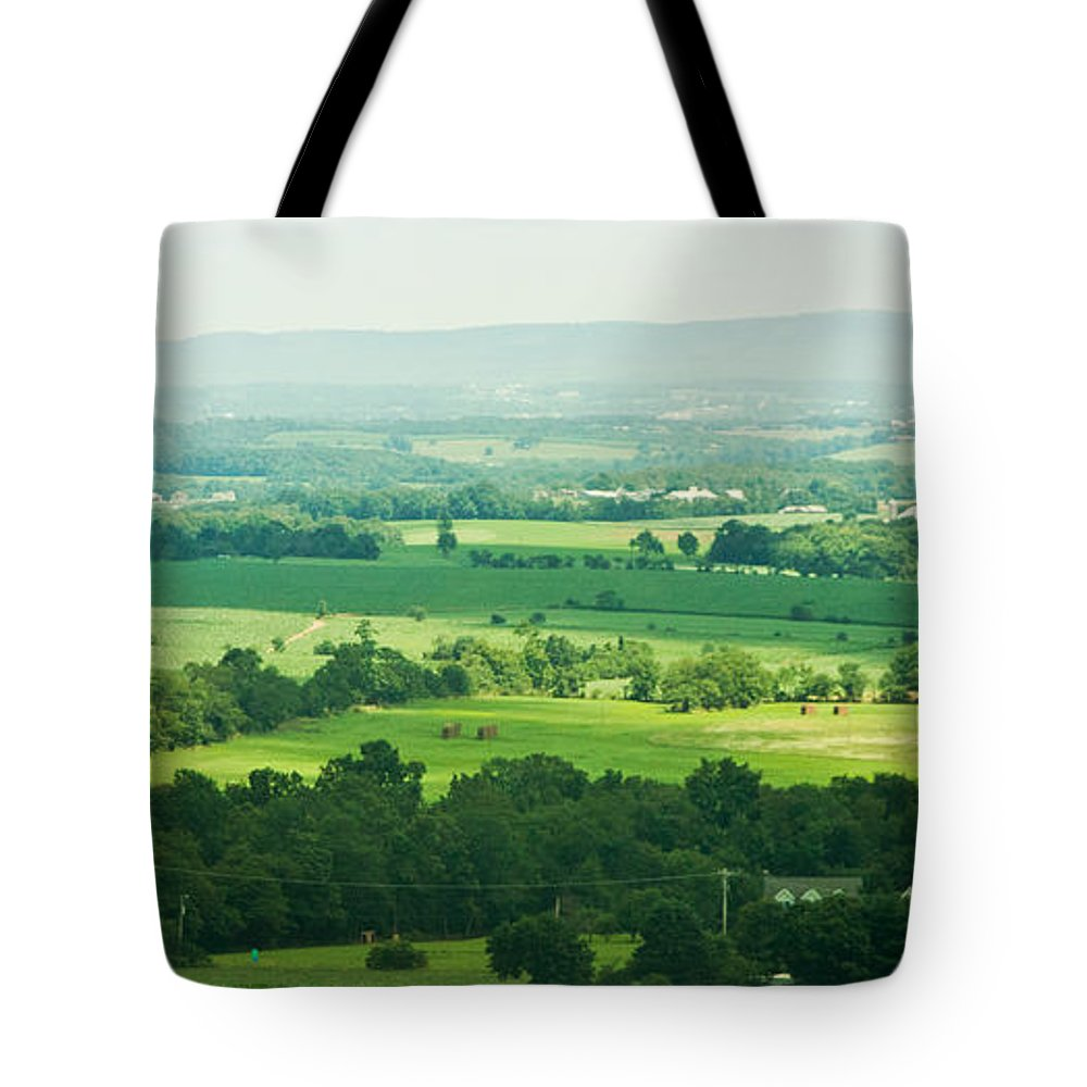 Farm Tote Bag featuring the photograph Driving By by K Hines