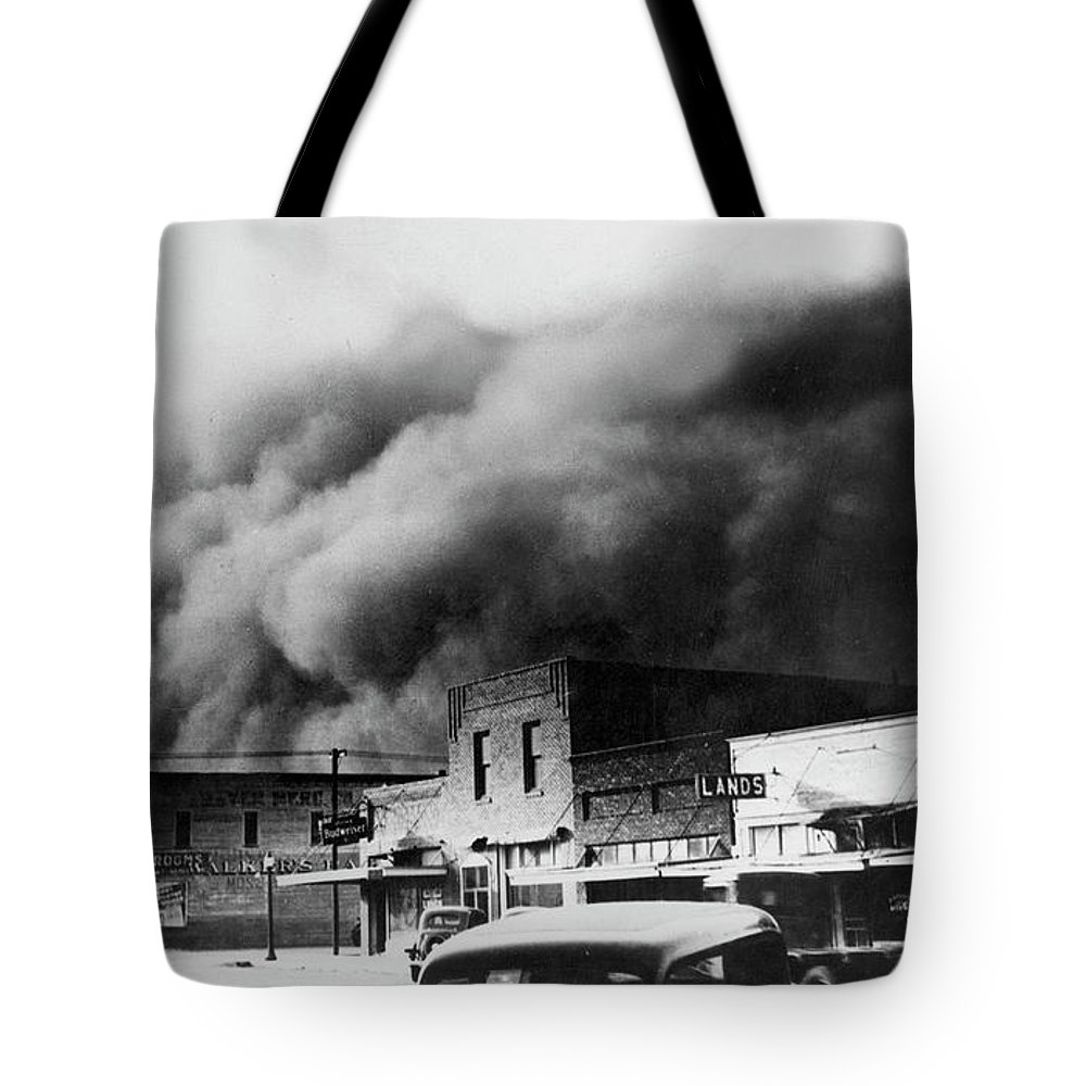 1934 Tote Bag featuring the photograph Drought, 1934 by Granger