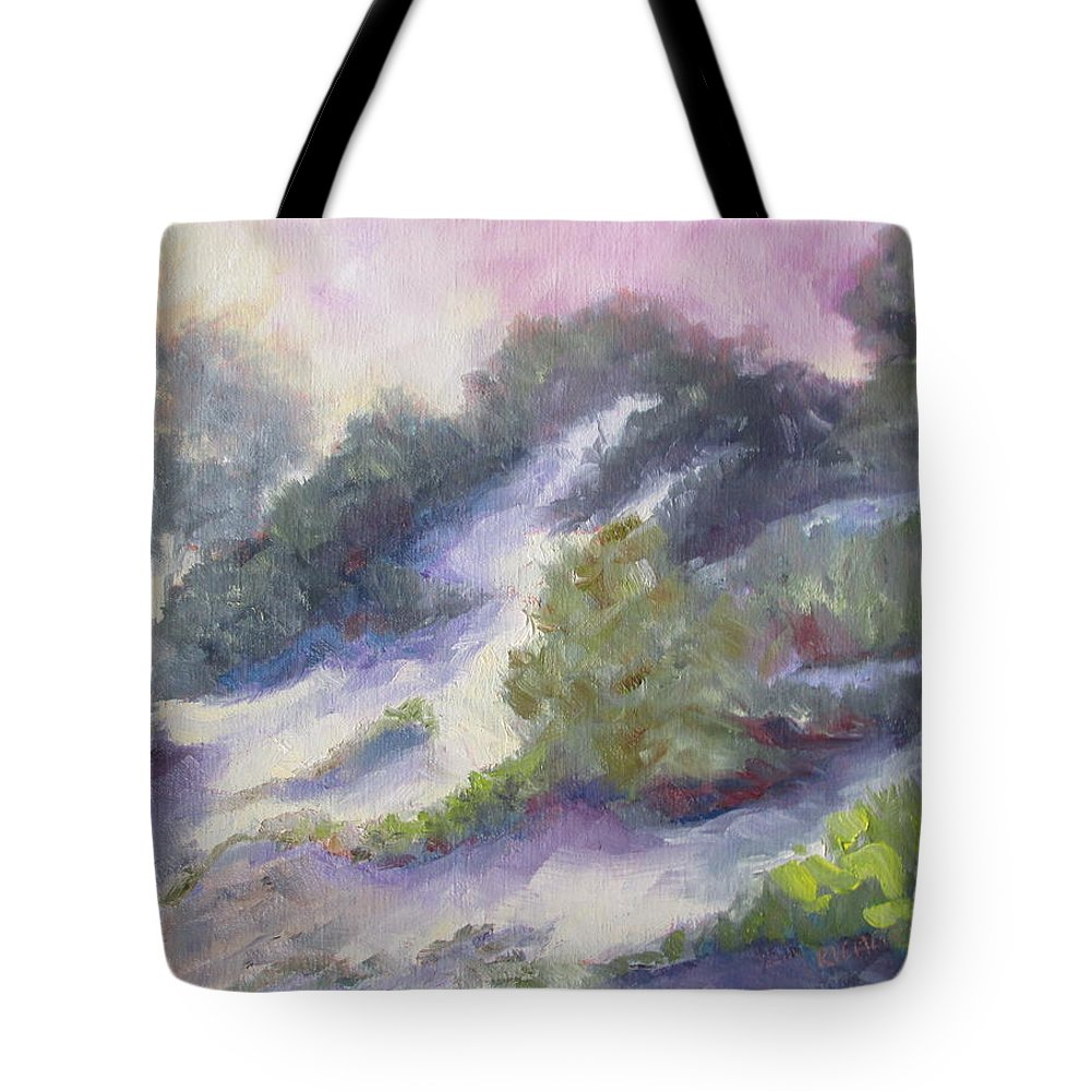 Dune Tote Bag featuring the painting Dune by Susan Richardson