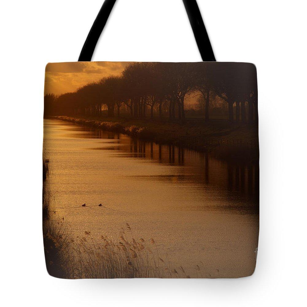Dutch Tote Bag featuring the photograph Dutch Landscape by Nick Biemans