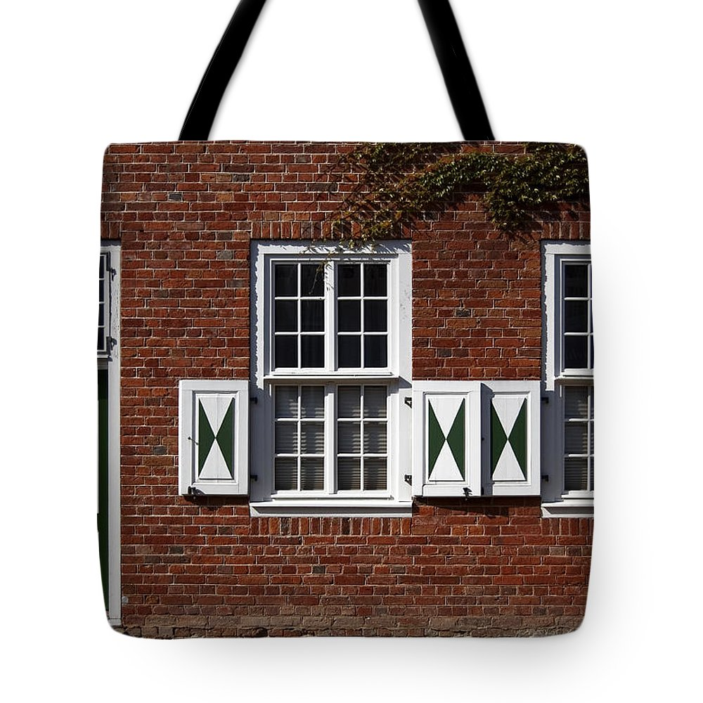 Dutch Neighborhood Tote Bag featuring the Dutch Neighborhood In Potsdam by RicardMN Photography
